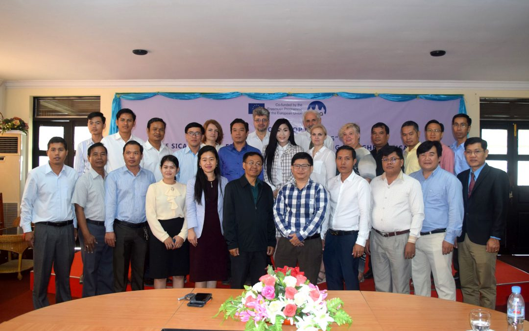 SICA Training on Strategic planning in Cambodia