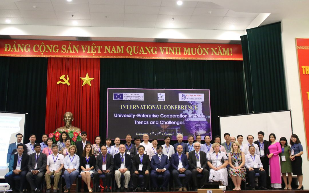 "International Conference ""University – Enterprise Cooperation: Trends and Challenges"" in Danang – Vietnam"
